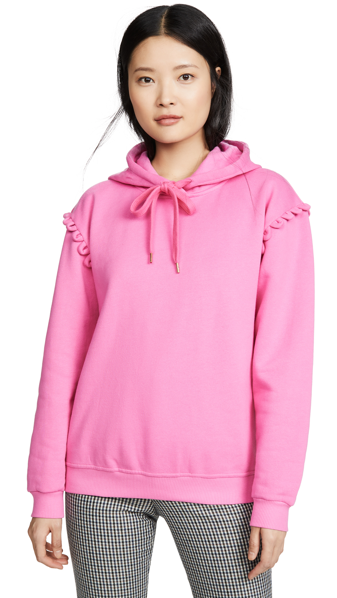 Buy See by Chloe online - photo of See by Chloe Hoodie with Scallop Detail