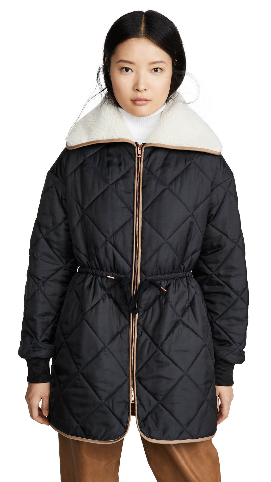 Buy See by Chloe Quilted Parka online beautiful See by Chloe Jackets, Coats, Down Jackets