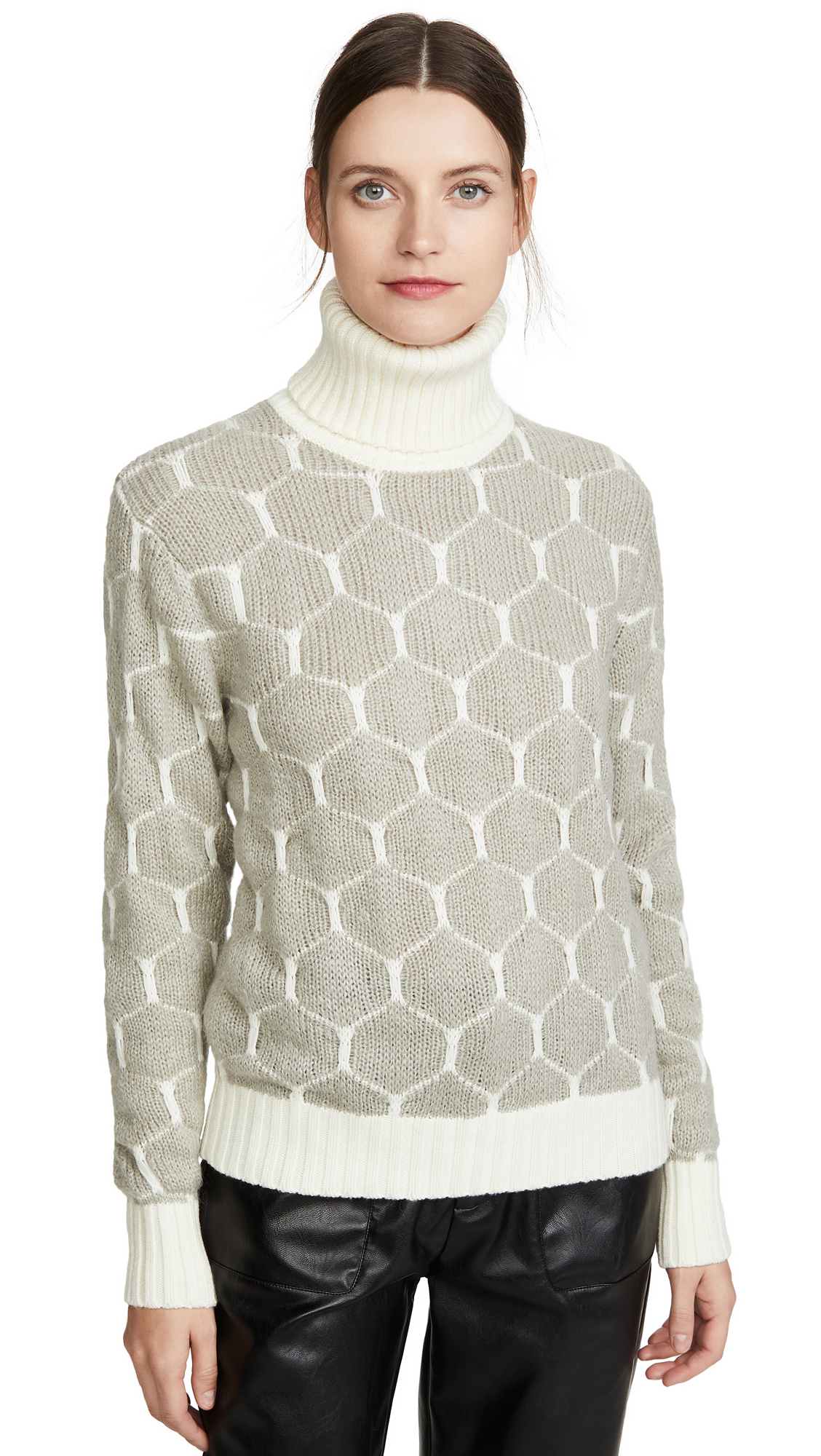 Buy See by Chloe online - photo of See by Chloe Honeycomb Pullover
