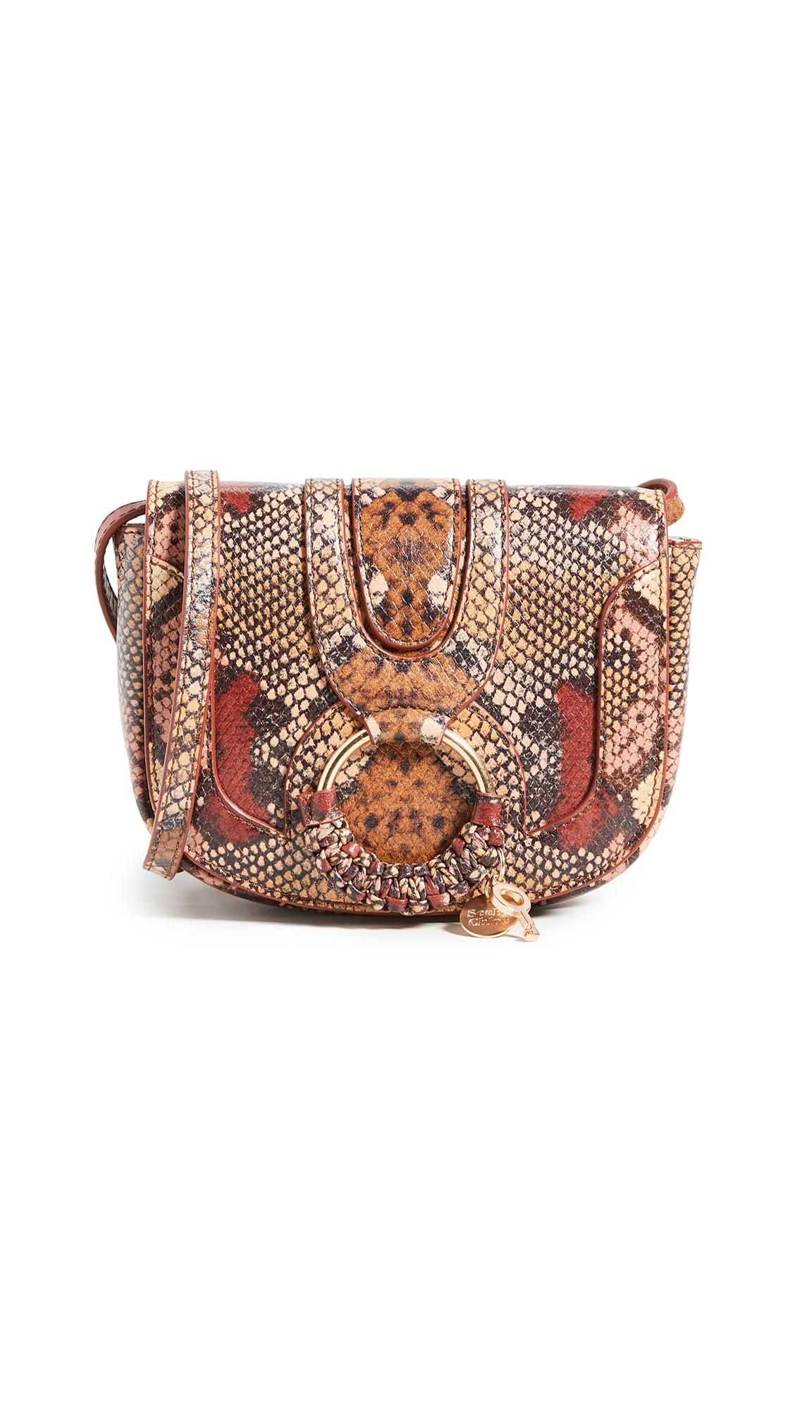 Buy See by Chloe online - photo of See by Chloe Hana Mini Saddle Bag