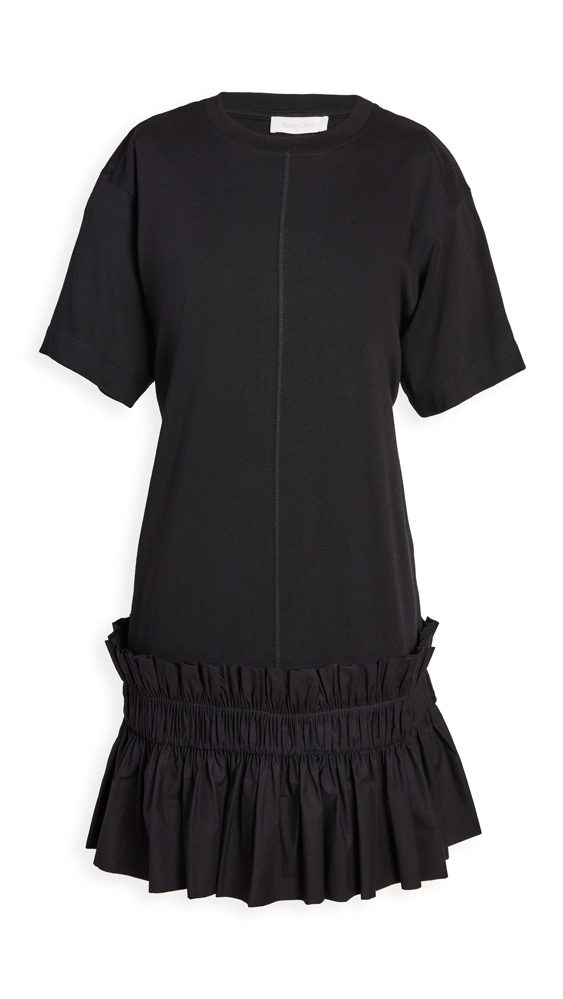 See by Chloe Drop Waist T-Shirt Dress - 40% Off Sale