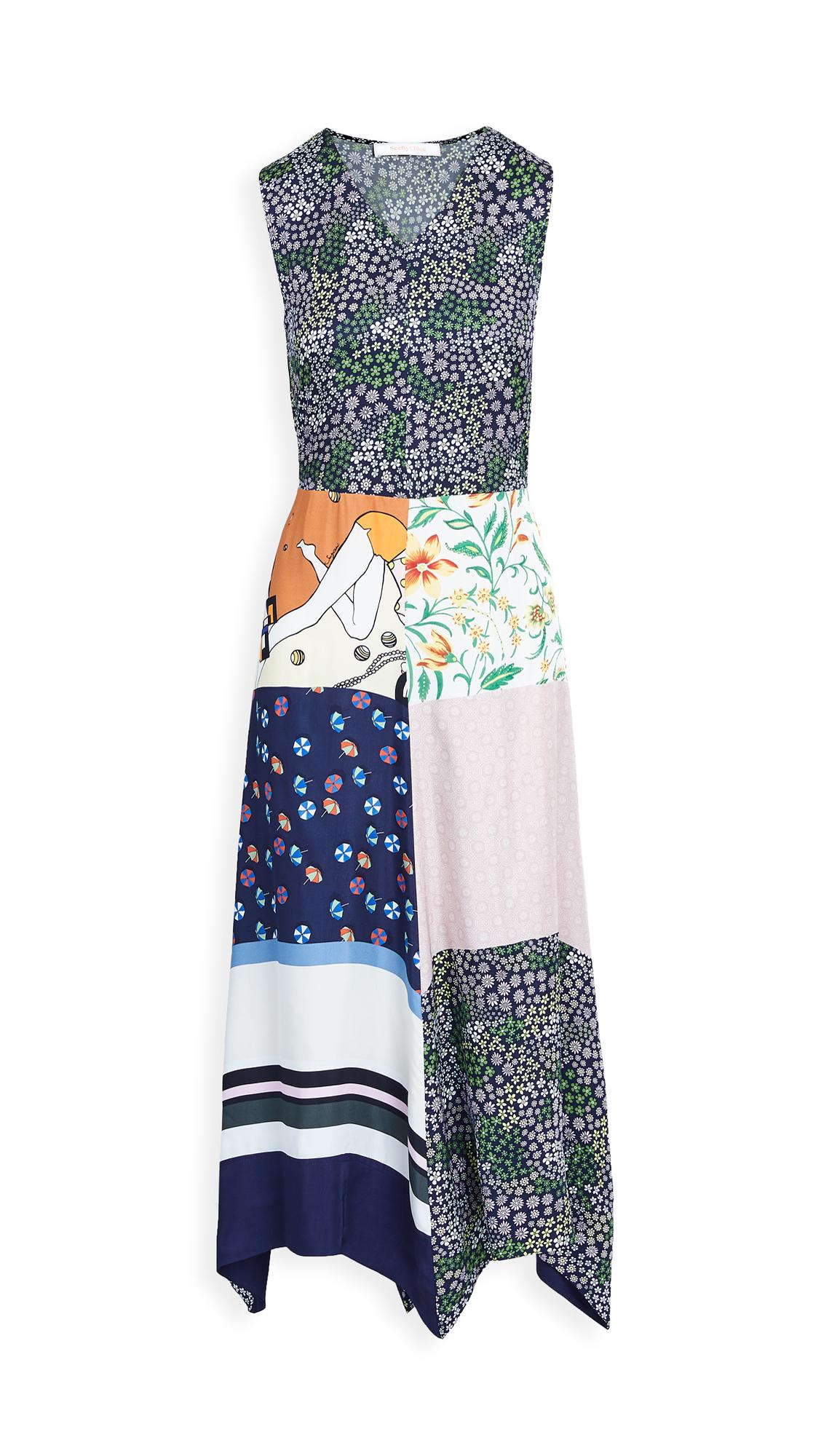 See by Chloe Print Block Dress
