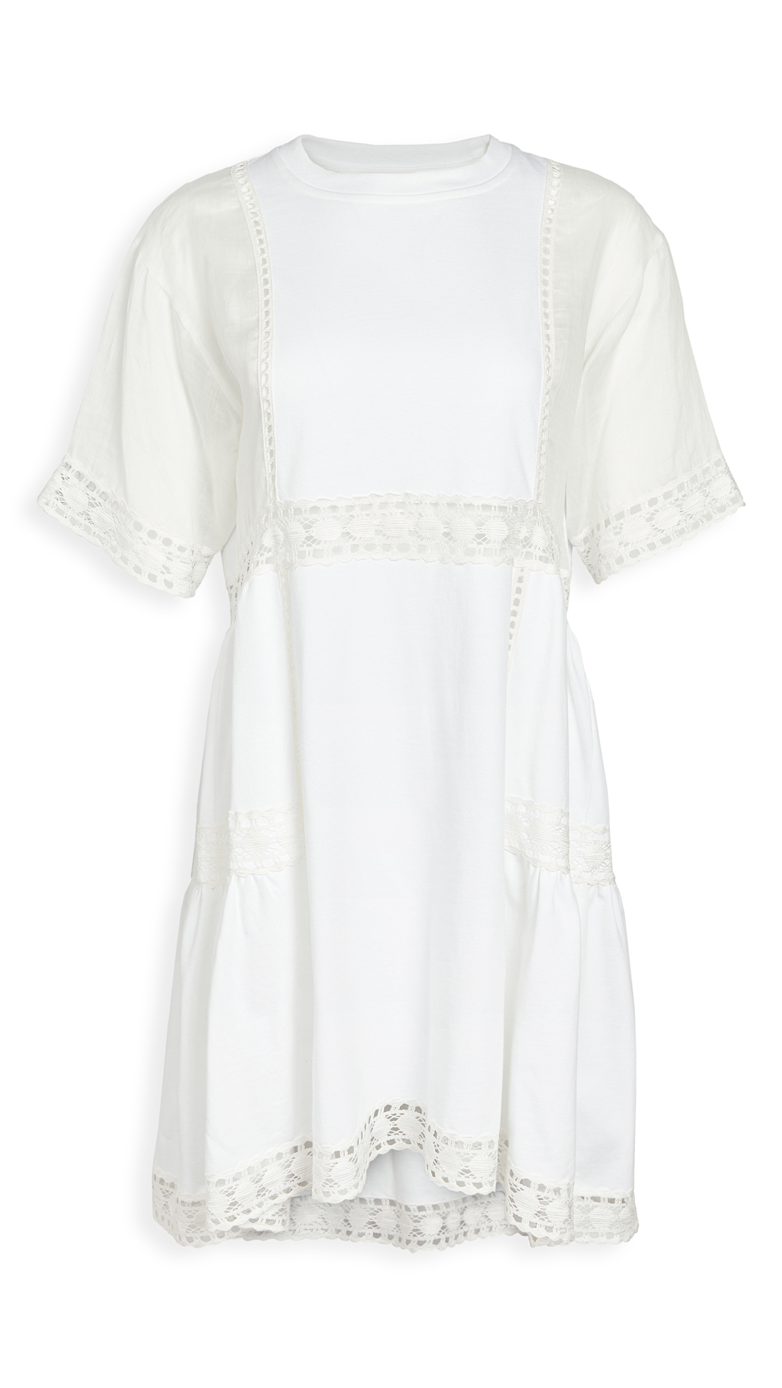 See by Chloe Mixed Media Dress - 50% Off Sale