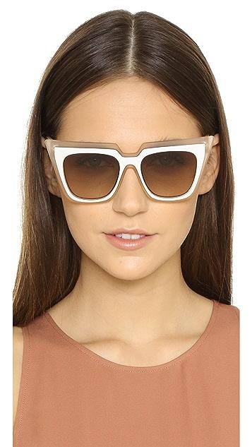 Self Portrait Self Portrait X Le Specs Edition One Sunglasses