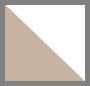 Matte White Milky Blush/Brown