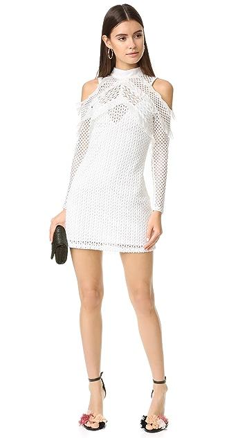 Self Portrait Lace Combo Dress