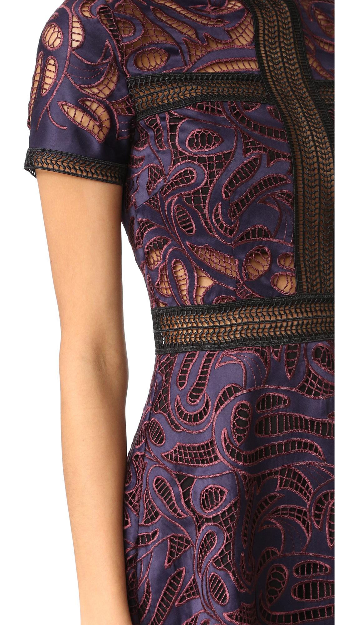 df3ef1d49b98b Self Portrait Eliza Cutwork Mini Dress | SHOPBOP