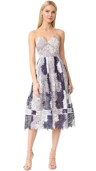 Self Portrait Camellias Dress