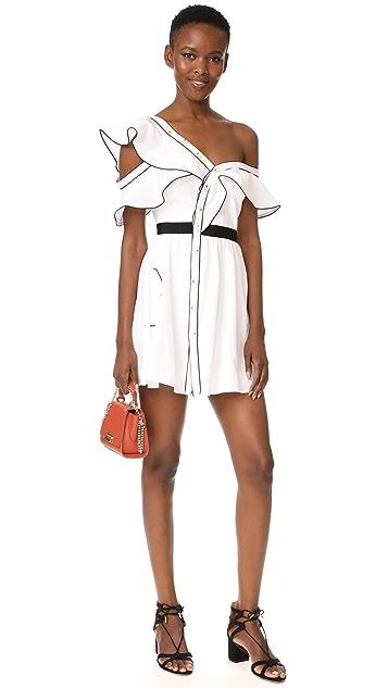 Self Portrait Frill Dress