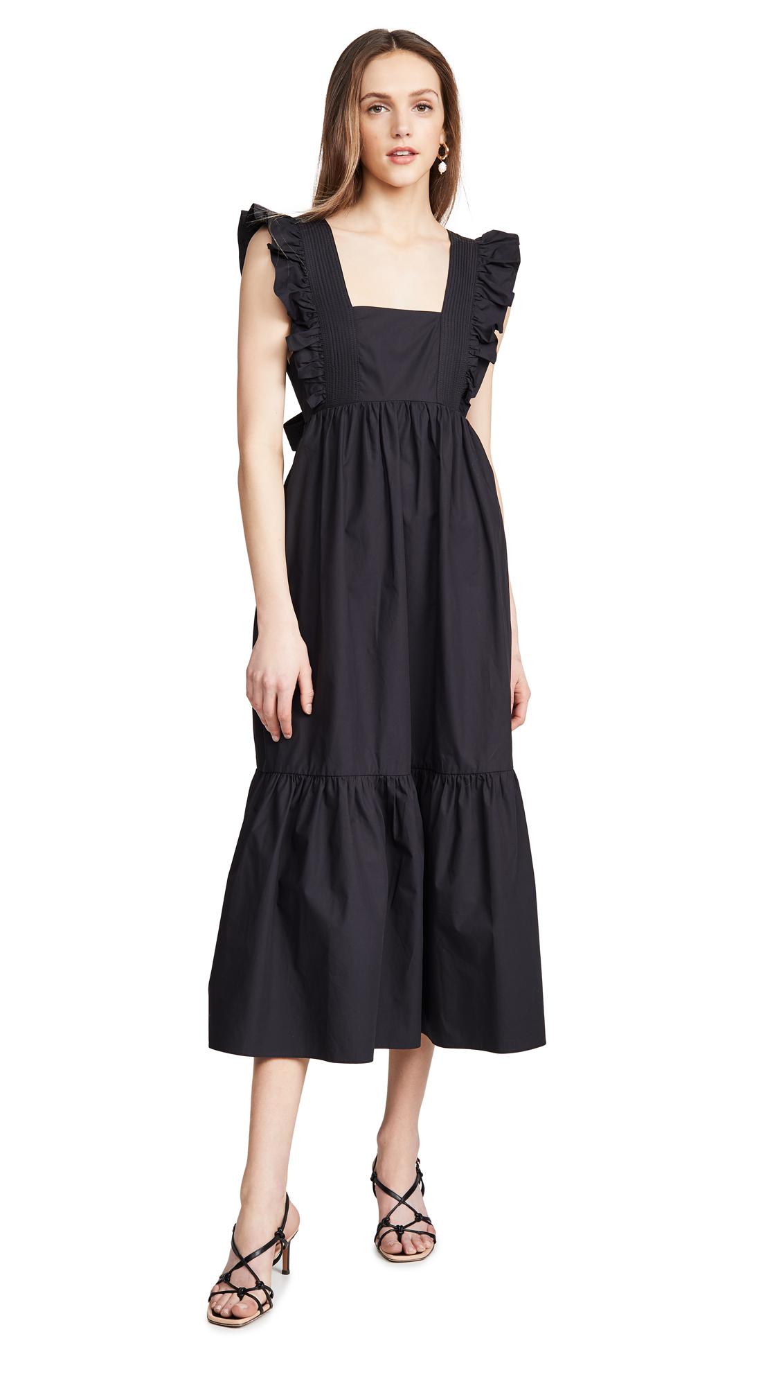 Buy Self Portrait Poplin Midi Dress online beautiful Self Portrait Clothing, Dresses