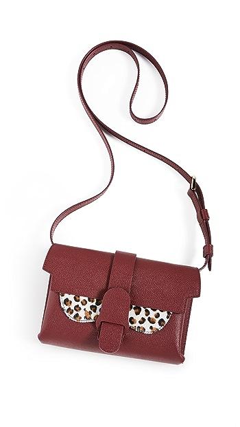 Senreve Aria Belt Bag - Merlot Leopard