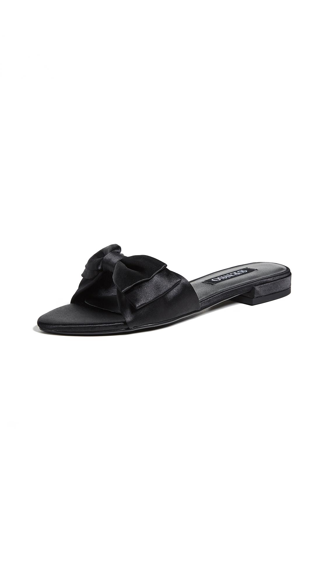 SENSO Zilda Bow Slides - Black