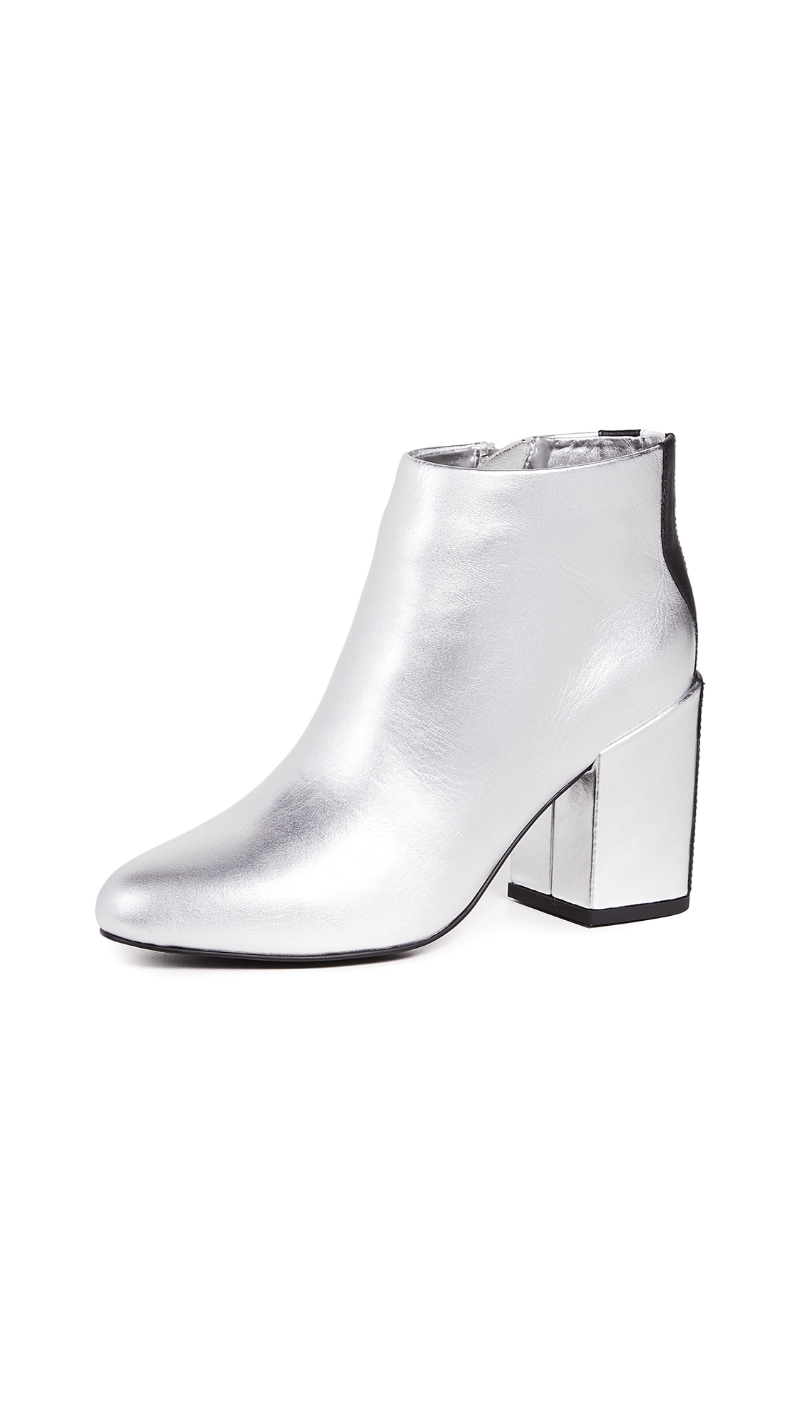 SENSO Jensen V Booties In Silver
