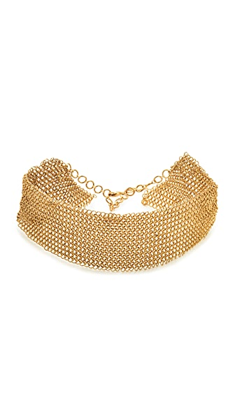 serefina Mesh Collar Necklace