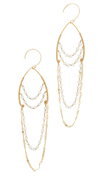 serefina Delicate Chandelier Earrings