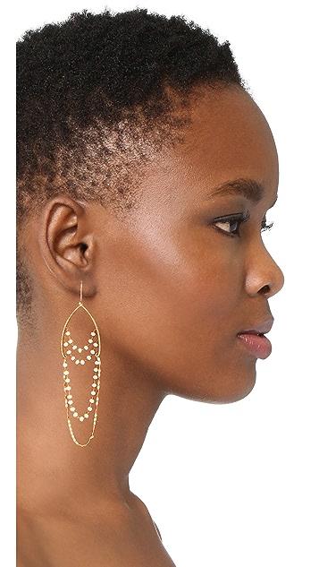 serefina Delicate Chandelier Earrings