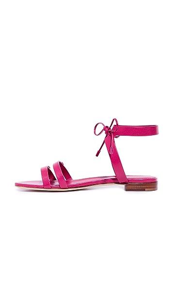 Sergio Rossi Zoe Flat Sandals