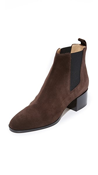 Sergio Rossi Jodie Booties - Dark Coffee