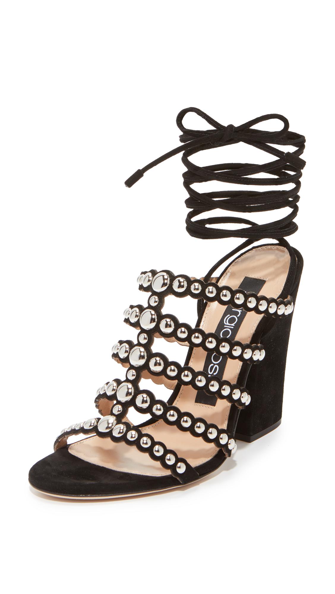 Sergio Rossi Electtra Sandal Heels - Nero