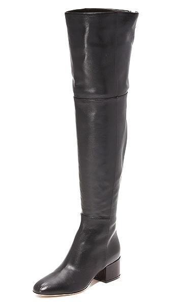 Sergio Rossi Virginia Leather Boots
