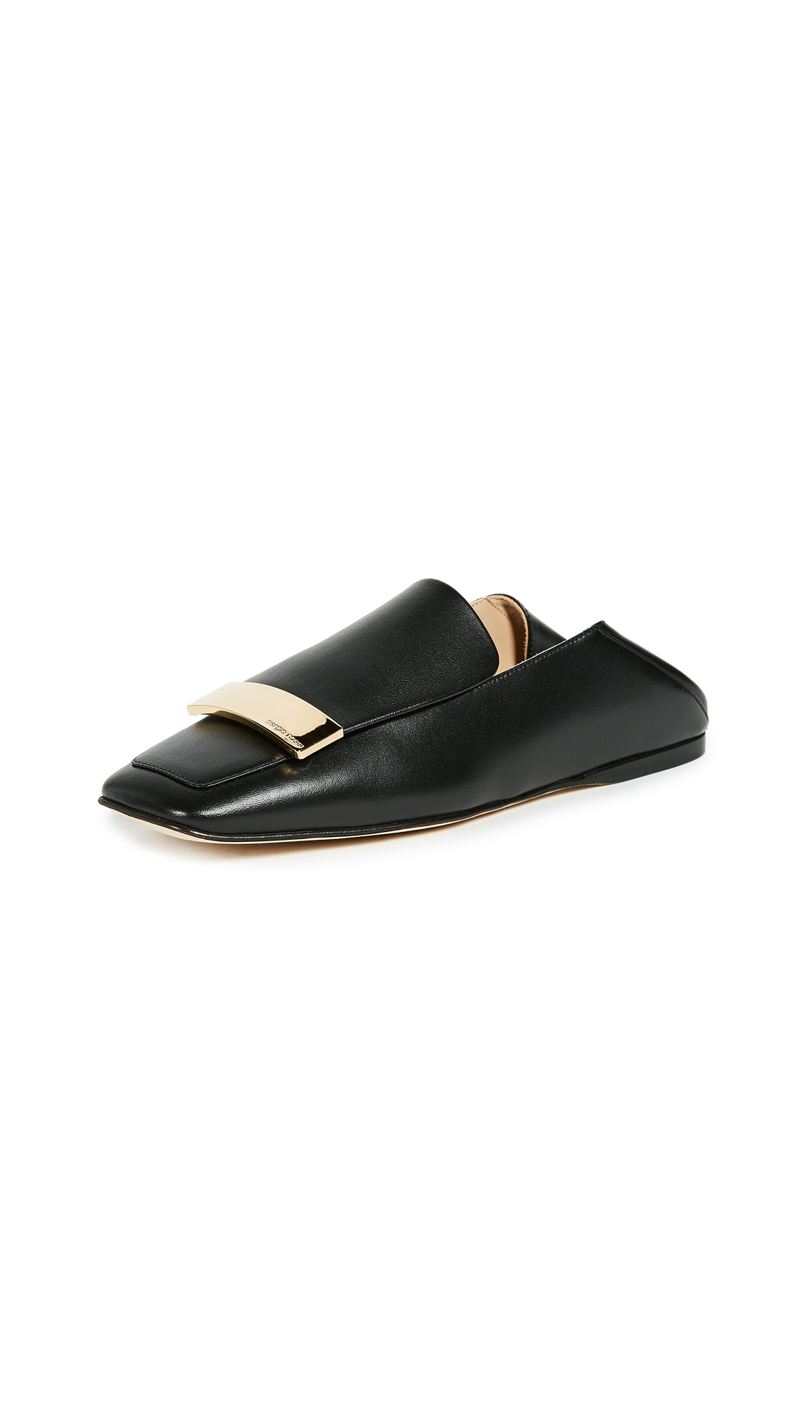 Sergio Rossi Loafer Flats - Black