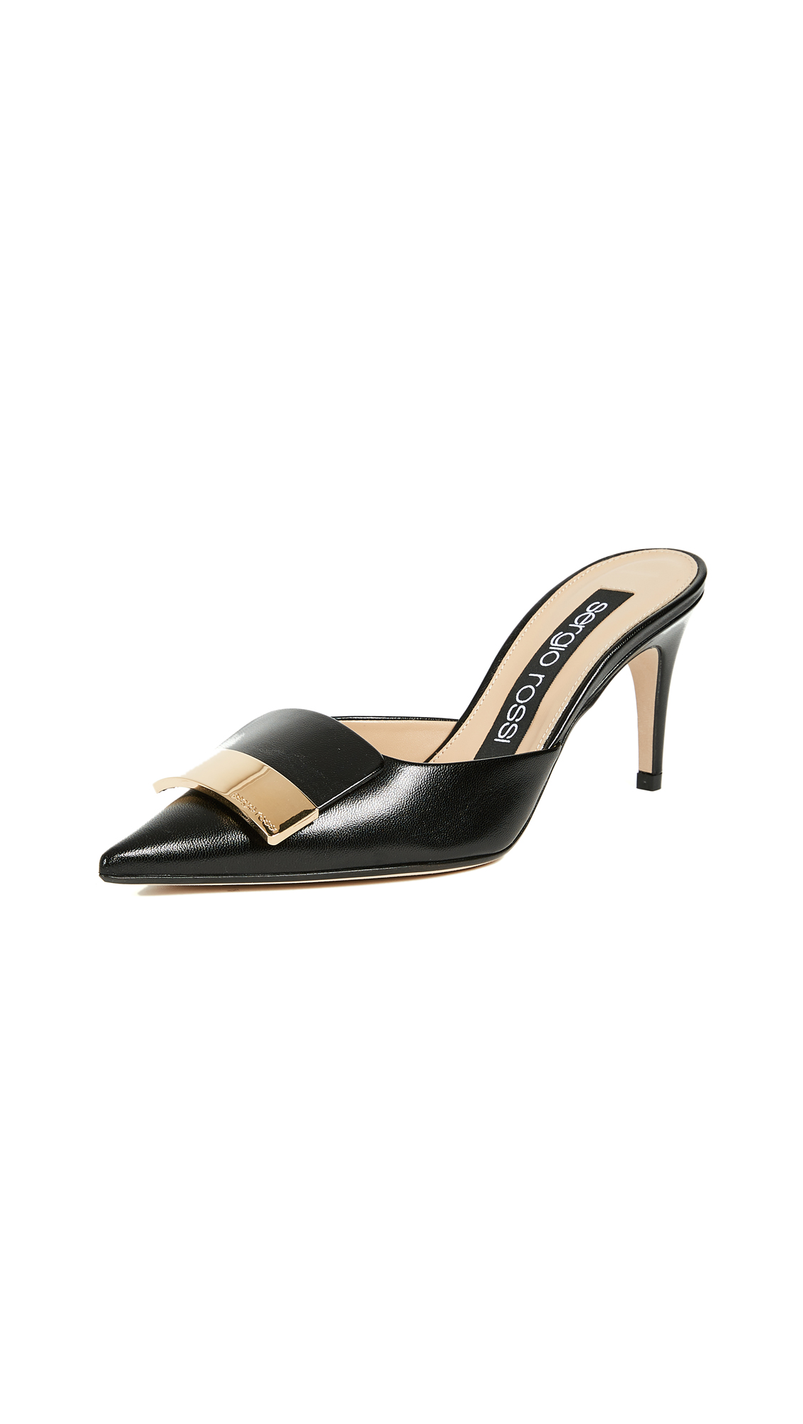Sergio Rossi Cindy Mule Pumps - Black