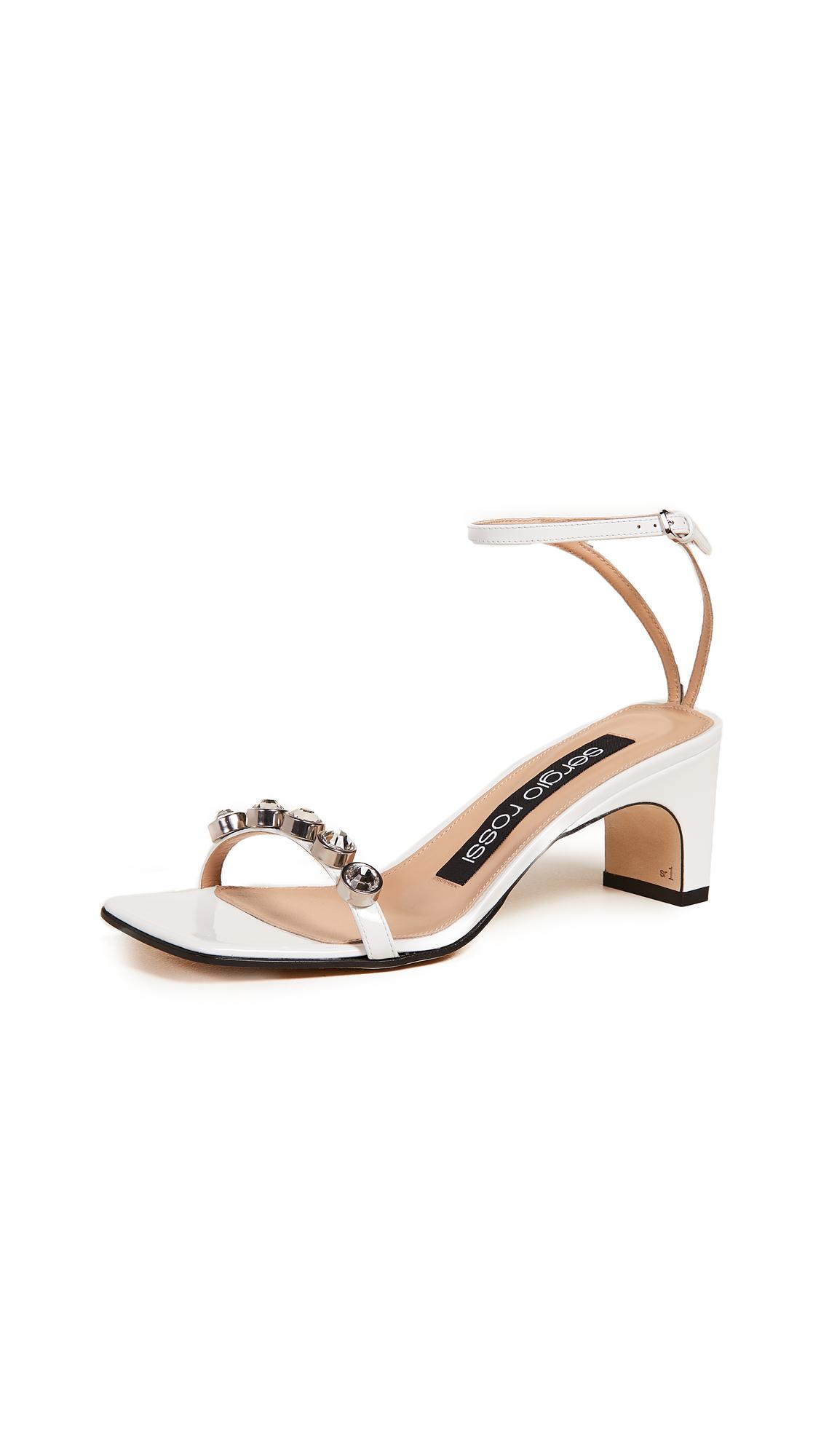 Sergio Rossi SR1 Sandals - Bianco