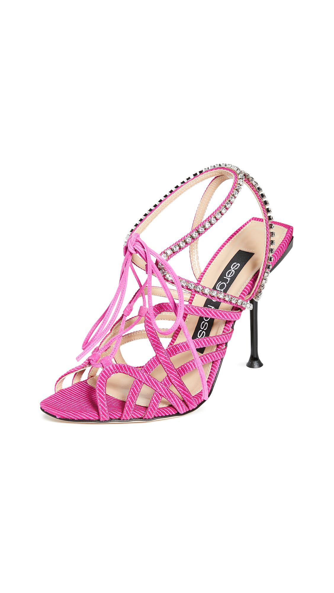 Buy Sergio Rossi Sr Milano Sandals online, shop Sergio Rossi