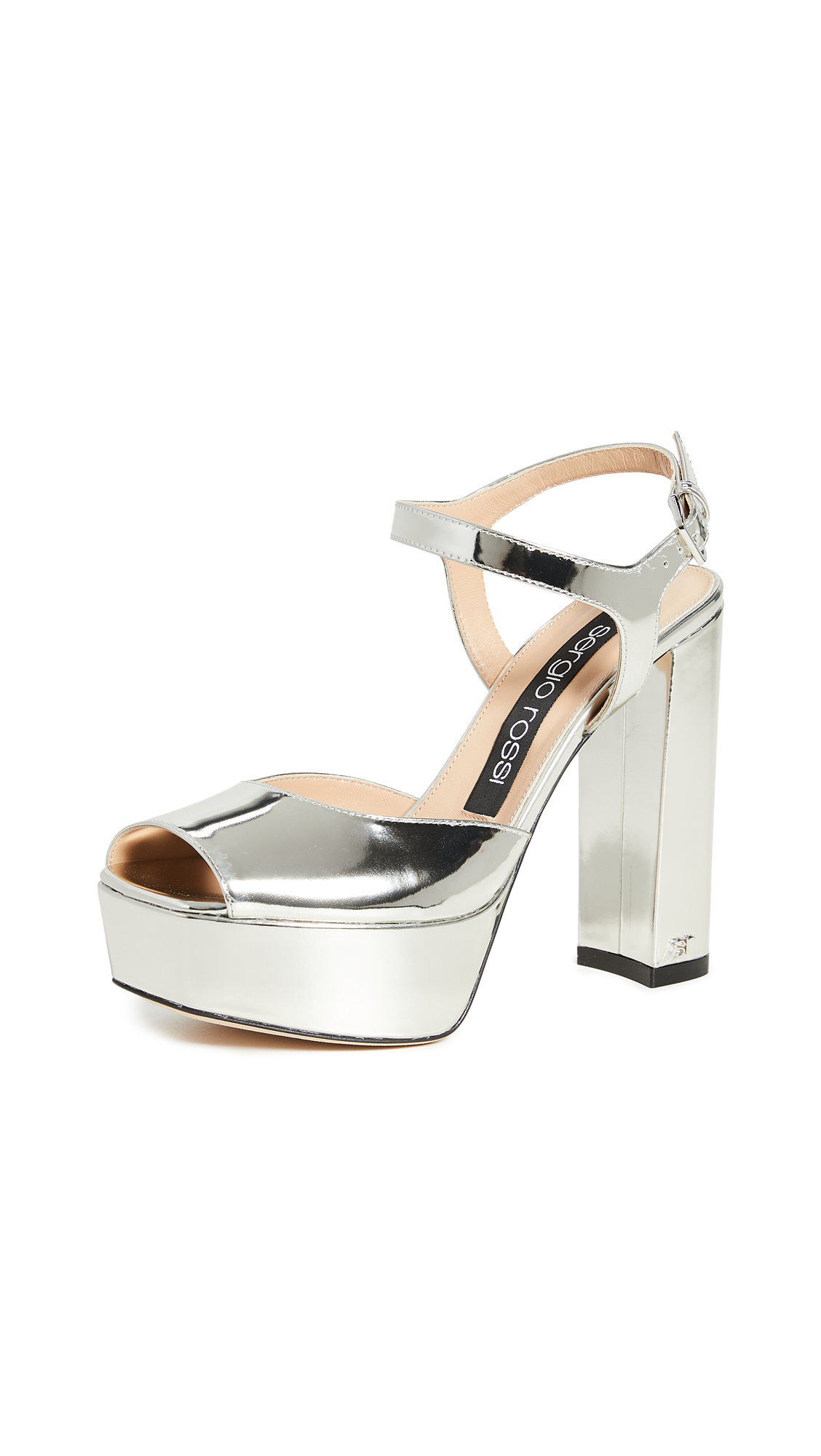 Buy Sergio Rossi online - photo of Sergio Rossi Monica Platform Sandals