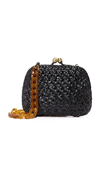 Serpui Marie Lolita Shoulder Bag - Black