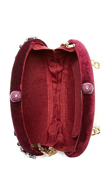 Serpui Marie Lizzy Velvet Bag