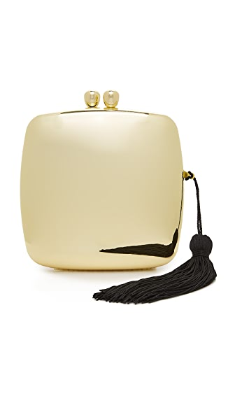Serpui Marie Elis Clutch - Gold