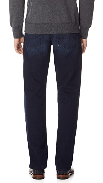 7 For All Mankind Luxe Performance Carsen Easy Straight Leg Jeans
