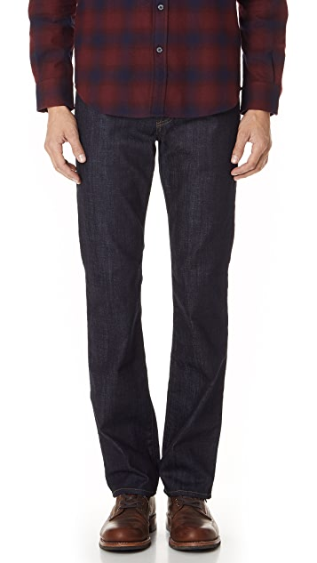 7 For All Mankind Carsen Easy Straight Leg Jeans