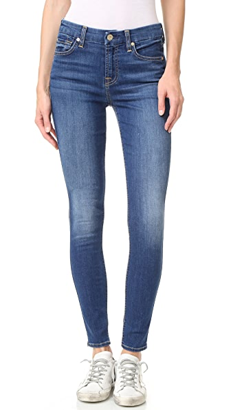 7 For All Mankind b(air) Ankle Skinny Jeans - Reign