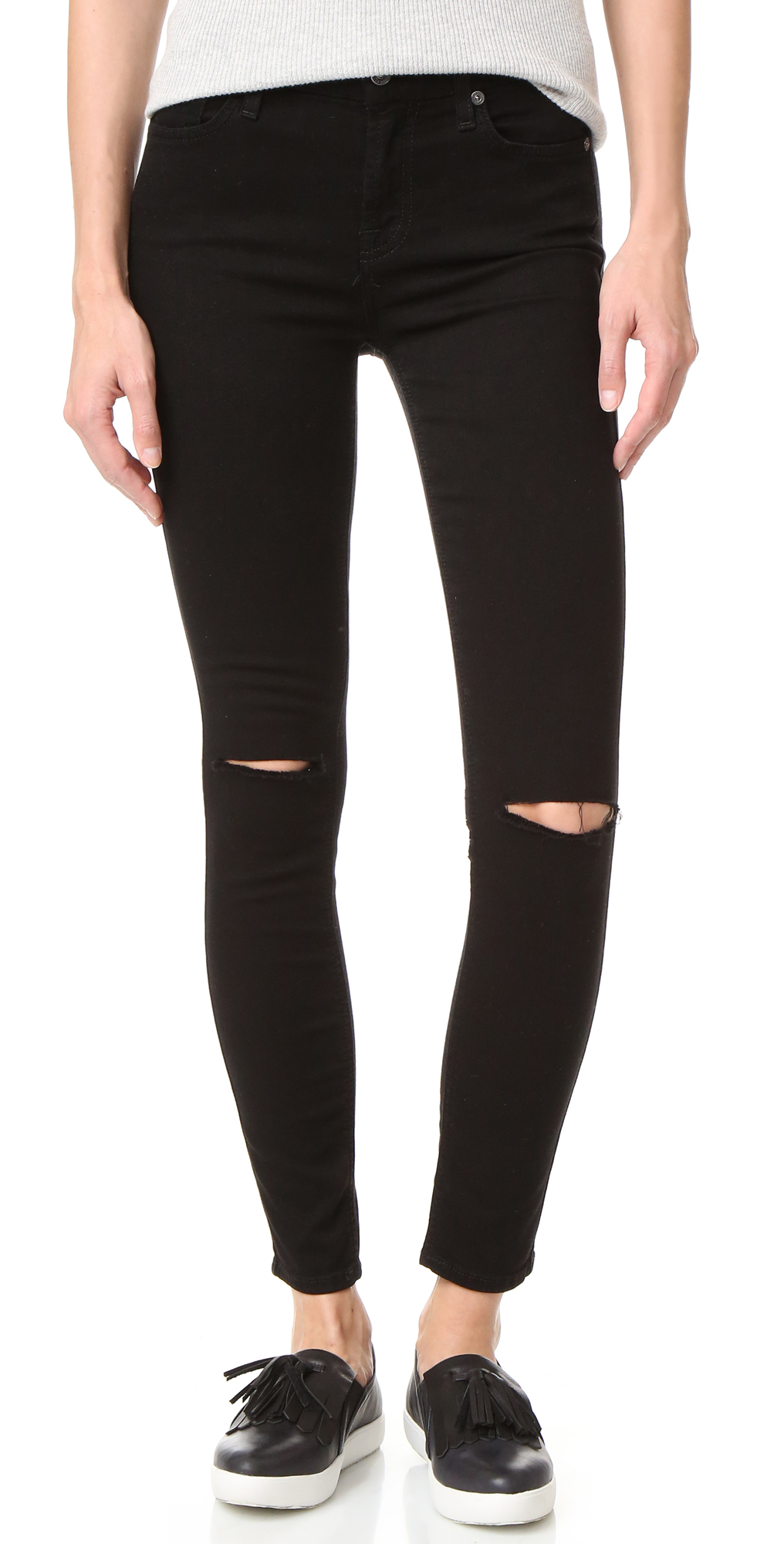 b(air) Ankle Skinny Jeans 7 For All Mankind