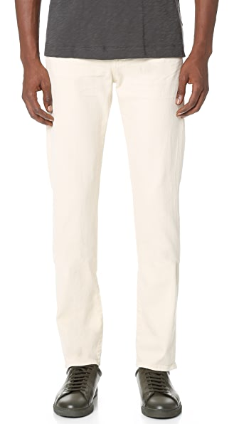 7 For All Mankind Slimmy Slim Straight Luxe Performance Jeans