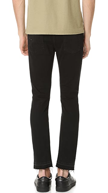 7 For All Mankind Paxtyn Released Hem Jeans