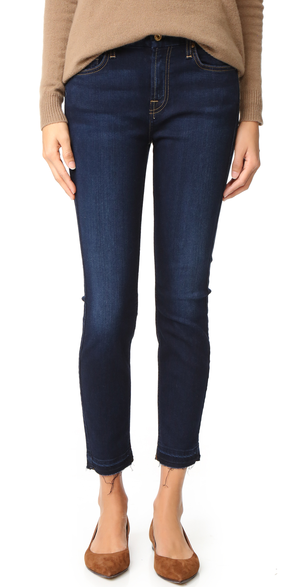 The b(air) Ankle Skinny Jeans 7 For All Mankind