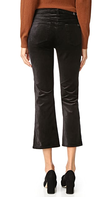 7 For All Mankind Cropped Boyfriend Pants