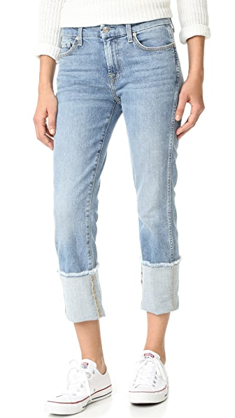 7 For All Mankind Fashion Boyfriend Jeans - Gold Cost