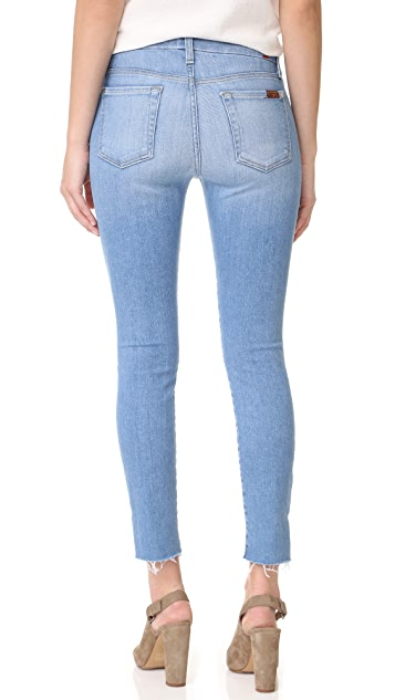 7 For All Mankind Step Hem Ankle Skinny Jeans