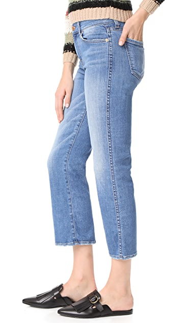 7 For All Mankind Cropped Boot Cut Jeans