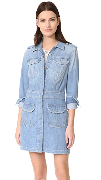 7 For All Mankind Button Front Dress