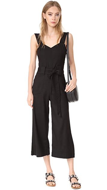 7 For All Mankind Belted Jumpsuit