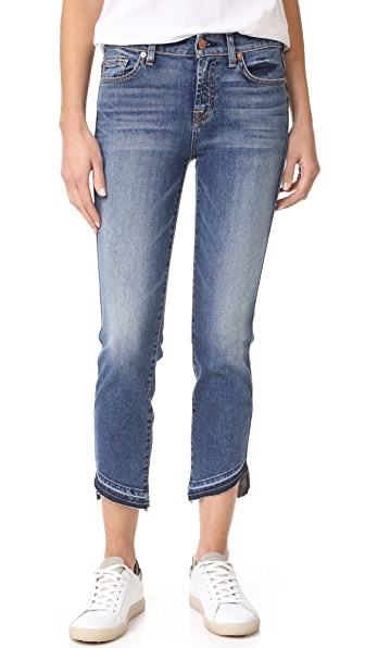 7 For All Mankind Roxanne Ankle Jeans with Released Hem