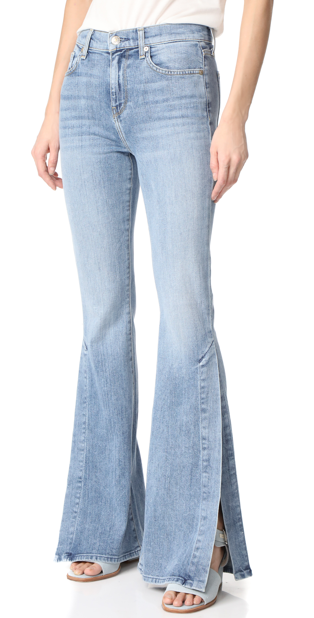 Ali Jeans with Split Seams 7 For All Mankind