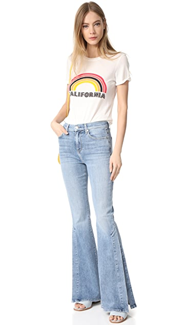7 For All Mankind Ali Jeans with Split Seams