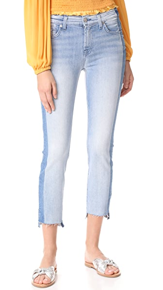 7 For All Mankind Roxanne Ankle Jeans - Bright Bristol