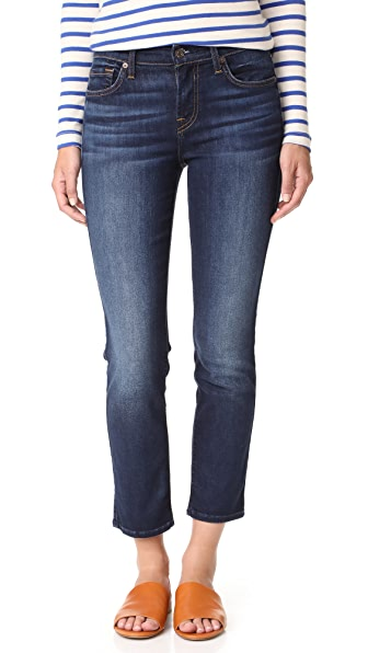 7 For All Mankind Roxanne Ankle Jeans - Dark Riverside Drive